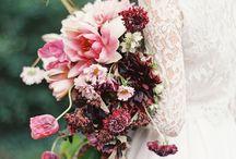 Burgundy and Pink Wedding