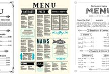 Free Templates & Printables / Free templates for different uses, menus etc.