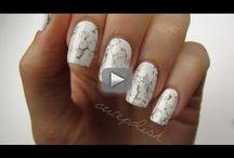 nail art marble