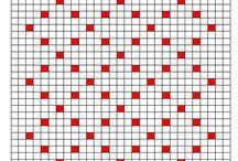 Bobble stitch pattern polka dot
