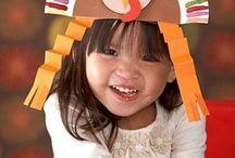 Kids Thanksgiving Crafts / by Gryffin