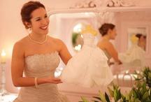 Bride dress replica