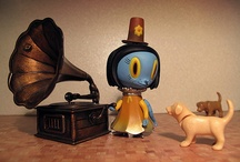 Vinyl Toys / by Kerri-Jane Mitchell