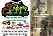 Great Shop for Toys & Collectables / Symbiote Collectibles is a small local shop in Berks county that specializes is action figures from Marvel, DC, TMNT, Star Wars, Star Trek, Pokemon and much more! We are located in the Stretch your Dollar Market at 2934 Saint Lawrence Ave, Reading, Pennsylvania 19606.