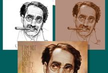 Pulling Faces / Portraits & caricatures by Frantz Kantor