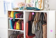 Purse & Closet Organization Ideas / Some are dreamy. Some are practical. All are cool. / by Maddy Nash