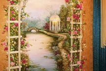 ζωγραφική για πορτες