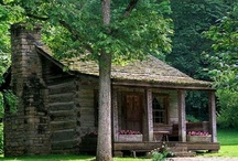 Cabins and rustic country decor