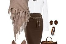 Brown clothes