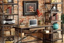 Industrial Home Décor for Cool / There is a saying that is so popular; home sweet home. This saying is very popular among the people.