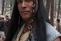 Adam Beach / The man I love in every way.  funny, sexy, charasmatic, just a beautiful fan all around.