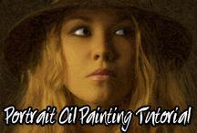 Art Instruction-Oil Paintig