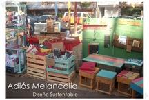 muebles reciclados / ideas de muebles hechos con materiales reciclados