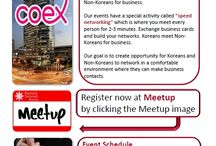 Business Network Korea - Seoul / Keep up to date with what is happening in the most important business networking event in Seoul, Korea.
