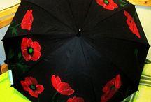 Зонт Роспись