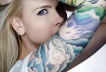 tattoo female arm