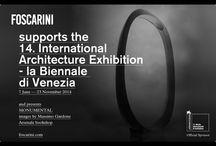 Architecture Biennale 2014 / Foscarini supports the 14. International Architecture Exhibition - La Biennale di Venezia  / by Foscarini