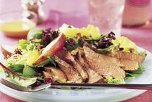 Beef-up Your Salad / Beef and salad make a great team. Adding protein is the perfect way to beef up a salad.