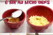 crumble aux pommes au micro onde