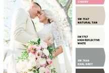 Pear Blossom Wedding Color Palettes