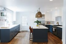 two toned kitchens