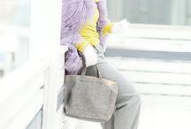 Фиолет и желтый