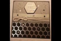 fathers day card using urban underground SU