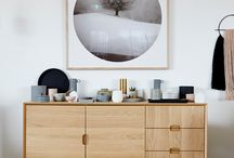 Pastel Interiors / Pastel toned interior styling
