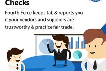 Suppliers Background Check Services in India / Fourth Force performs Suppliers Background Check Services all over India to ensure your business reliable.