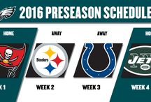 #Eagles 2016 Schedule / by Philadelphia Eagles