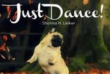 dancing pugs