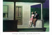 Edward Hopper / Edward Hopper (July 22, 1882 – May 15, 1967) was a prominent American realist painter and printmaker. Both in his urban and rural scenes, his spare and finely calculated renderings reflected his personal vision of modern American life of the 1940s.