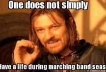 Old school marching band memories