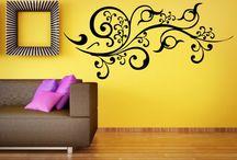 Malované obrázky na zeď