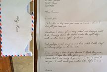 Handwritten love letter / I received it in my mailbox with no address or stamp, but not meant for me. Anyone to claim it???