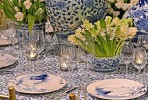 chinoiserie inspired tablescape/party