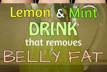 LEMON AND MINT DRINK (THAT REMOVES  BELLY FAT)
