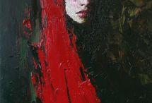 yagli boya portreee