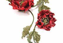 Ozdoby  na szyję i nie tylko (kwiaty)