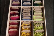 Craft Supplies Storing