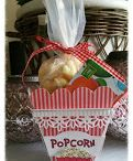 # 101 Popcorn box / Template # 101 Popcorn box available at www.sandrasscrapshop.blogspot.com
