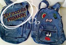 DIY de una mochila básica del PRIMARK
