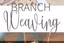 Tissage branches