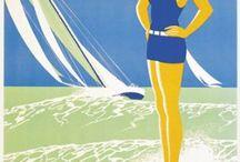Vintage Sailing Ads & Images