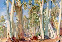 Aust Artist Hans Heysen
