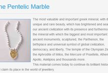 HelleniCulture / We have taken all the patterns, shapes pictures and symbols of the ancient greek civilization and using the Pentelic Marble, the important mineral from which the most important monuments and statues of the ancient world have been carved, we have created this jewellery with a flair of ancient civilization and contemporary culture.