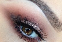 makeup for brown hair/ eyes