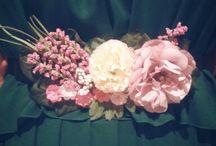 cinturones de flores