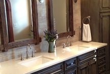 Our Bathrooms / Our gallery of custom bathroom projects.