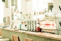 DREAM cafe, interior shop,  bakery